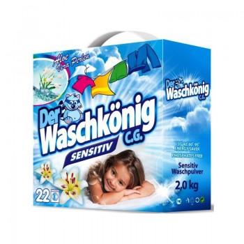 WASCHKÖNIG SENSITIV Prací prášek na dětské prádlo 2kg / 22dávek