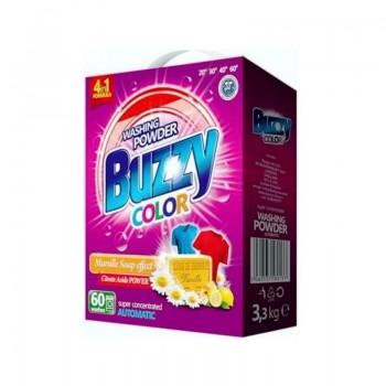 BUZZY COLOR BOX Prací prášek s vůní marseillského mýdla 3,3kg / 60dávek