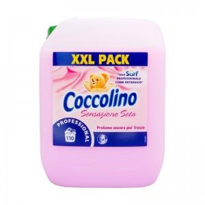 COCCOLINO PINK (HEDVÁBÍ A VLNA) Aviváž 10L (110dávek)
