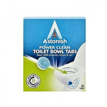 ASTONISH Aktivní čisticí tablety do WC - šumivé 10ks