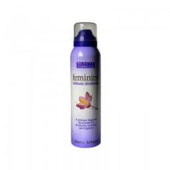 BEAUTY FORMULAS FEMININE Intimní deodorant - sprej 150ml