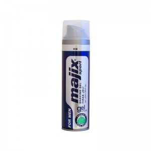 MAJIX SPORT FOR MEN ICE Gel na holení 200ml