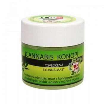OSVĚDČENÁ BYLINNÁ MAST Cannabis konopí 150ml