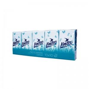 LINTEO CLASSIC Papírové kapesníčky dvouvrstvé 10x10ks