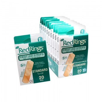 RED RINGS STANDARD Zdravotní náplasti 20ks