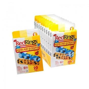 RED RINGS KIDS Zdravotní náplasti - pro děti 20ks