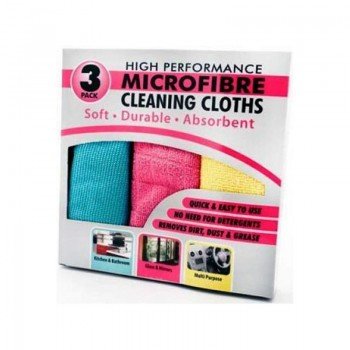 MICROFIBRE Utěrky z mikrovlákna 3ks