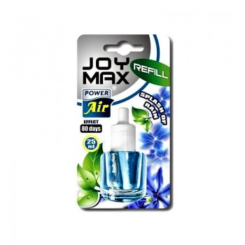POWER AIR JOY MAX SPLASH OF RAIN REFILL Osvěžovač do zásuvky (náplň) 25ml