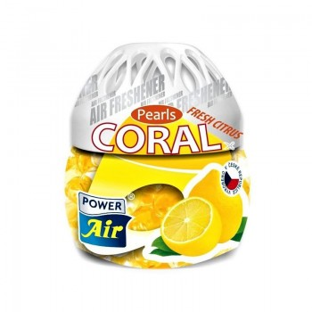 POWER AIR CORAL PEARLS FRESH CITRUS Osvěžovač vzduchu 150g
