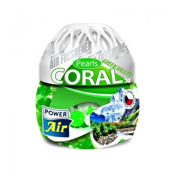 POWER AIR CORAL PEARLS GREEN VALLEY Osvěžovač vzduchu 150g