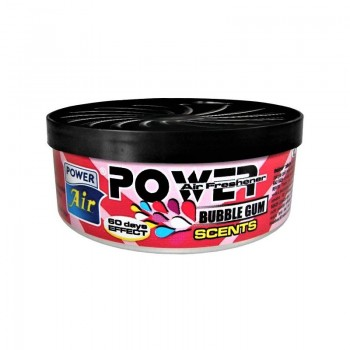 POWER AIR POWER SCENTS BUBBLE GUM Osvěžovač vzduchu 1ks