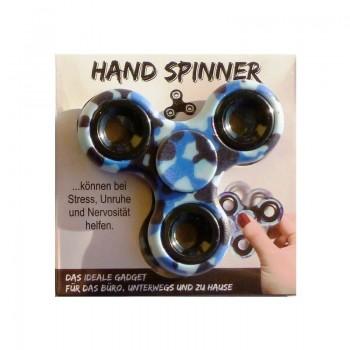 HAND SPINNER Modrý maskáč 1ks