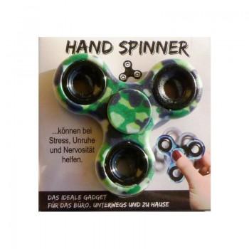 HAND SPINNER Zelený maskáč 1ks