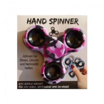 HAND SPINNER Růžový maskáč 1ks