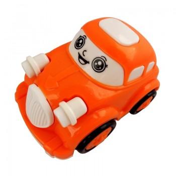HRAČKA AUTO Oranžovo-bílé 1ks