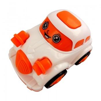 HRAČKA AUTO Bílo-oranžové 1ks