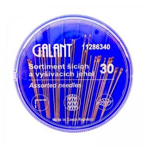 GALANT Jehly kompakt - pozlacená ouška 30ks