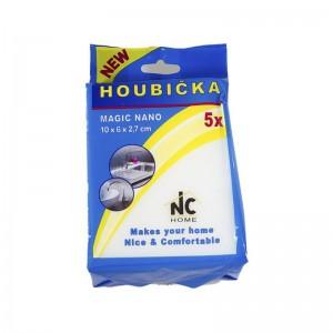 MAGIC NANO Zázračná čisticí melaminová houbička 5ks