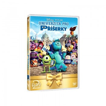 DVD Univerzita pro příšerky (CZ)
